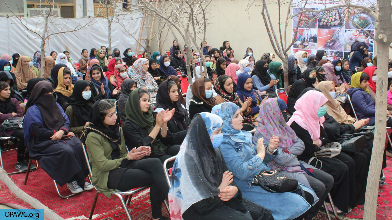OPAWC event on the International Womwn's Day in Kabul